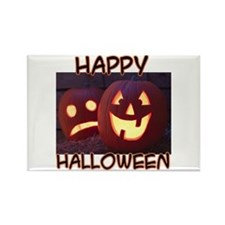 Halloween Greetings Rectangle Magnet