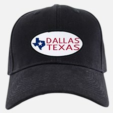 Texas: Dallas (State Shape & Star) Baseball Hat