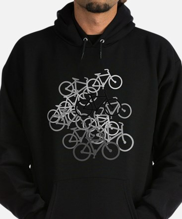 Cool Bicycle in amsterdam Hoodie (dark)
