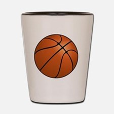 Funny Hoops Shot Glass