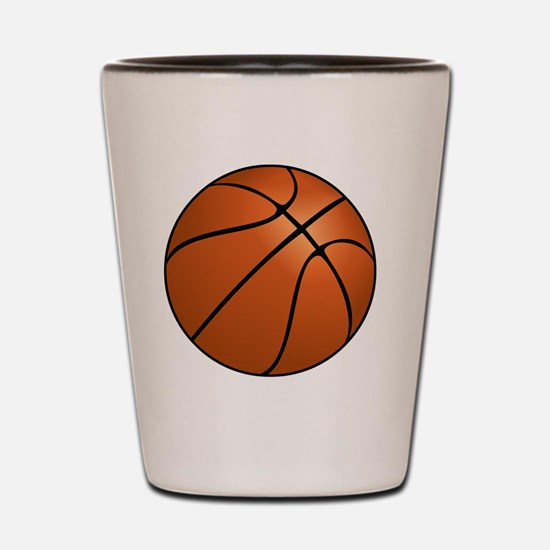 Cute Basket ball Shot Glass