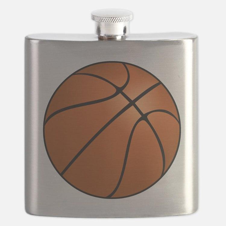 Cute Basket ball Flask