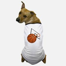 Cute Basket ball Dog T-Shirt
