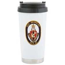 Cute Uss nicholas Travel Mug