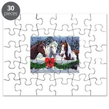 Christmas Horses Puzzle