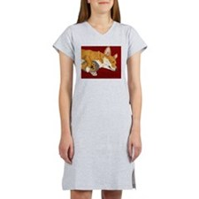 Cute Corgi Women's Nightshirt
