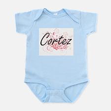 Cortez surname artistic design with Flow Body Suit