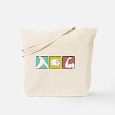 festivus retro illustration Tote Bag