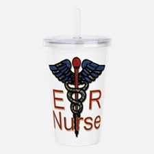 ER Nurse Acrylic Double-wall Tumbler