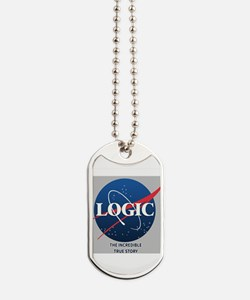Logic The Incredible True Story New Logo Dog Tags