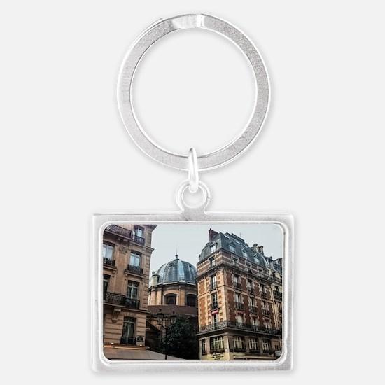 Somewhere in Paris Keychains