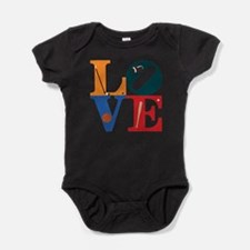 Cute Philadelphia hockey Baby Bodysuit