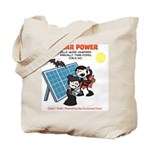 Solar vs. Vampires Tote Bag