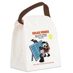 Solar vs. Vampires Canvas Lunch Bag