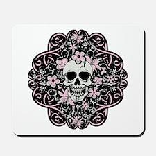 Girly Vintage Skull Mousepad