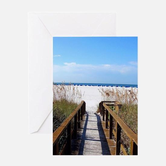 Funny Beach Greeting Card
