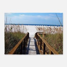 Walk on the Beach 5'x7'Area Rug