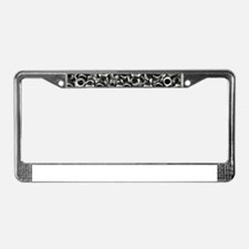 Nuts License Plate Frame