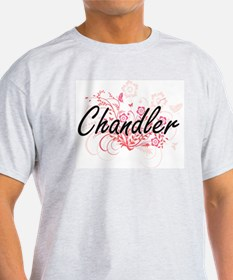 Chandler surname artistic design with Flow T-Shirt
