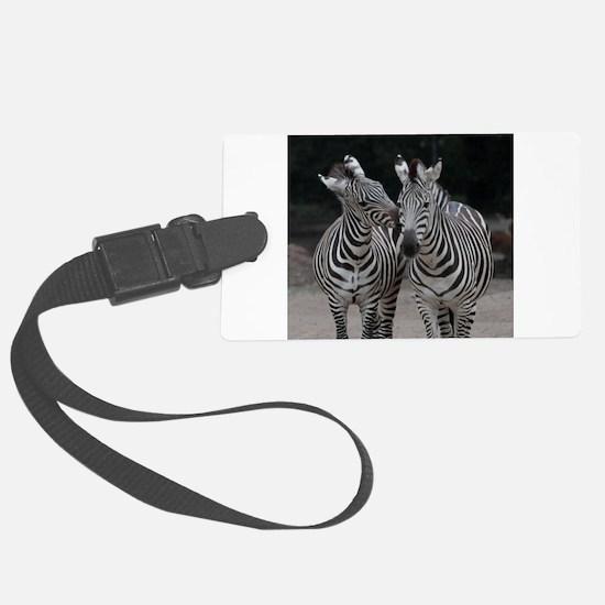 Zebra005 Luggage Tag