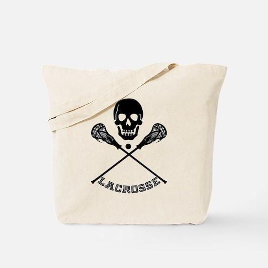 Unique Lacross player Tote Bag