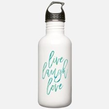 Live Laugh Love Water Bottle