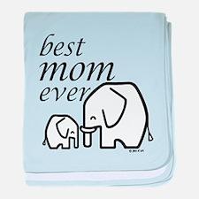 Best Mom Ever baby blanket