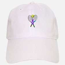 Tennis Rackets and Ball Cap