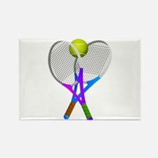 Tennis Rackets and Ball Magnets