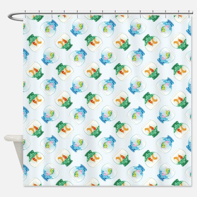 FISHBOWLS Shower Curtain
