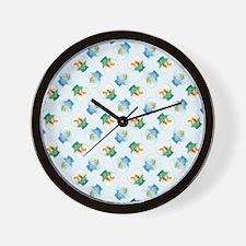 FISHBOWLS Wall Clock