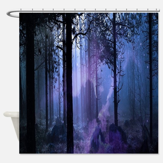Mystic Night Shower Curtain