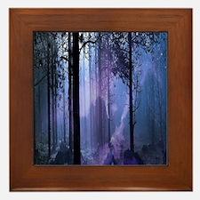 Mystic Night Framed Tile