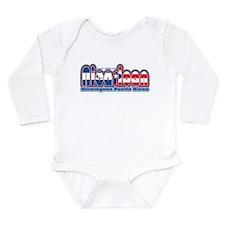 Unique Latino Long Sleeve Infant Bodysuit