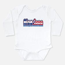 Funny Interracial Long Sleeve Infant Bodysuit