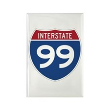Interstate 99 Rectangle Magnet