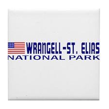 Wrangell-St. Elias National P Tile Coaster
