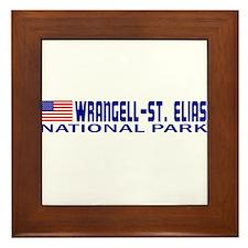 Wrangell-St. Elias National P Framed Tile