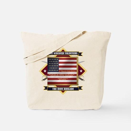 2nd Wisconsin Volunteers Tote Bag