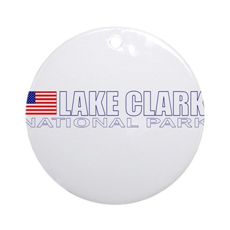 Lake Clark National Park Ornament (Round)