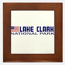 Lake Clark National Park Framed Tile