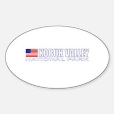 Kobuk Valley National Park Oval Decal