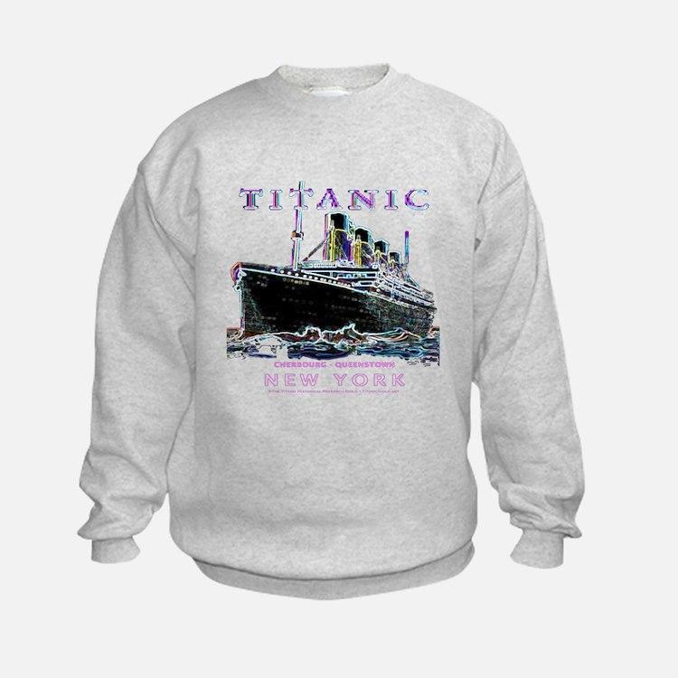 Cute Titanic swim team Sweatshirt