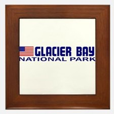 Glacier Bay National Park Framed Tile