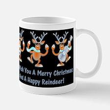 Merry Christmas Happy Reindeer Mug