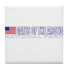 Gates of the Arctic National Tile Coaster
