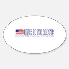 Gates of the Arctic National Oval Decal