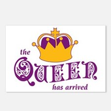 The Queen Has Arrived Postcards (Package of 8)