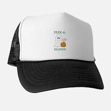Brayden Halloween Peek-A-Boo  Trucker Hat