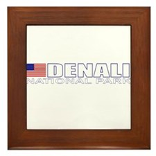 Denali National Park Framed Tile